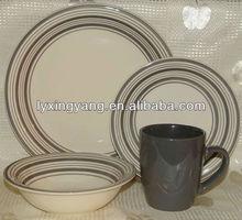 south africa dinner set stoneware ,dinnerware set dark blue