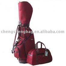 Lady genuine leather golf bag