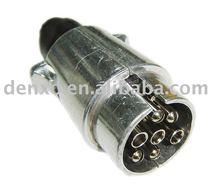 7 Pins Aluminum Trailer Plugs