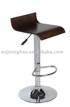 Modern swivel wooden bar stool chair XH-607