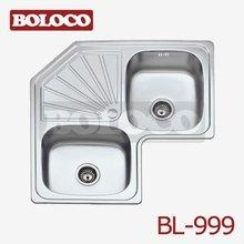 corner kitchen sinks stainless steel BL-999