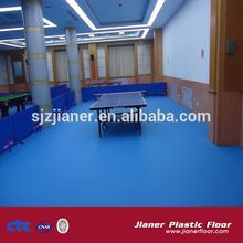 PVC sport floor for table tennis court