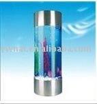 modern design round acrylic fish tank