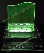 edge lit sign base,plexiglass sign holders,engraving acrylic led sign