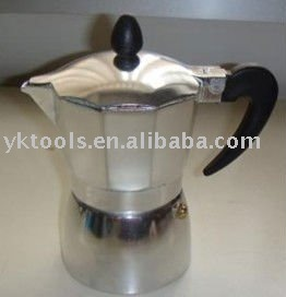 hot selling aluminum coffee maker (KPC-SN100A-900A)