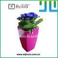 plástico decorativo vaso de flor