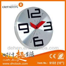Moden diamond art Metal wall clock