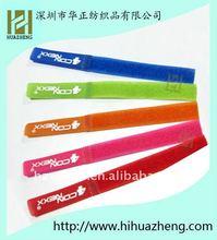 Self-locked velcro cable tie