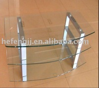 Glass iron legs TV Stand
