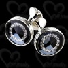 2011 Fashion custom engraved cufflinks