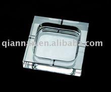 Square promotional crystal ashtrays