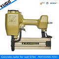14 calibre alta qualidade de parede industrial grampeador, concreto nailer st64
