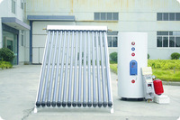 split pressurized Solar Water Heater with controller