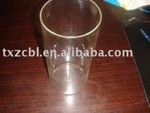 pyrexglas rohr mit einem ende geschlossen