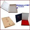 Newest High-grade MDF(wood) CD/DVD Box
