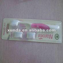 toothbrush packaging blister