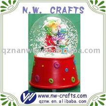 Polyresin custom snow globe Valentine's day gift
