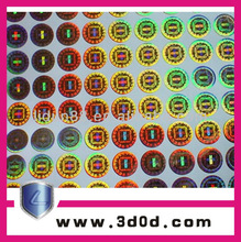 Hologram sticker/watermark/fluorescence Security & Protection