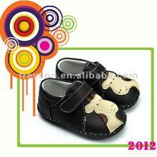 Designer baby shoes boys pattern PB-1029BK