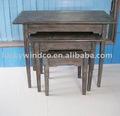 afligido resistente prancha shabby chic mesa de madeira