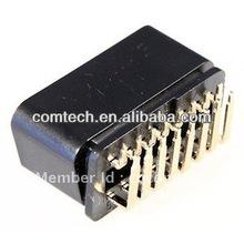 J1962 OBD-II 16P Mright Angle CONNECTOR