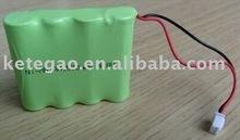 4.8V AA 1500mAh nimh battery pack
