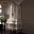 Barroco clássico móveis - sala de estar armário - mão esculpido móveis de madeira
