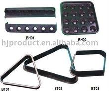 Cheap billiard accessory,plastic pool ball triangle,pool rack