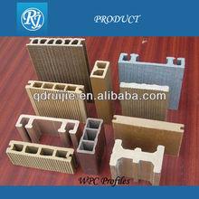 wpc composite profile making machine,wood plastic composite profile production line