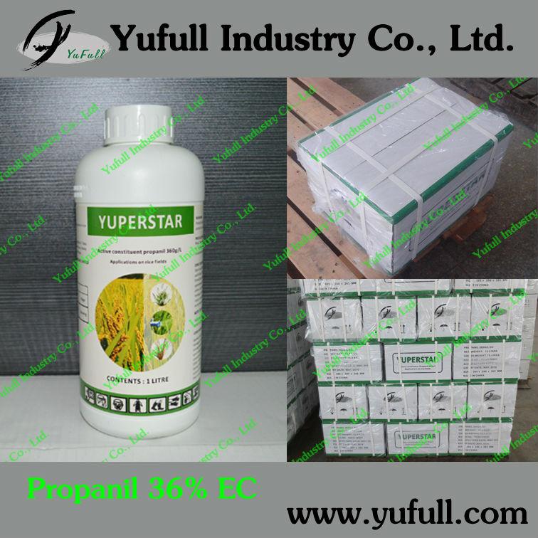 Propanil 480g/l ec, herbicida selectivo en el arroz/campo de trigo, productos químicos agrícolas