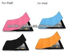 The Newest Slim Cover Case And Transparent PC Case For Ipad Air /Ipad Air 2 With Stand Function