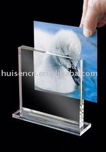 Acrylic T frame photo holder