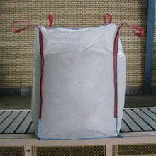 low price fibc builder bags with flat discharge bottom, pp bulk bag, jumbo bag