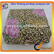 2014 newly custom decorative eye shadow box