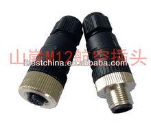 M12 Sensor Cable Connector Female Male M8 Sensor cable Connector,M12 Wireless Mountable Connector (IBEST)