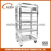 four wheels milk cart for dairy ltd