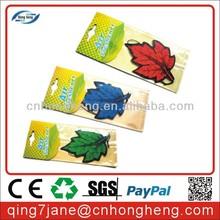 Custom Car Paper Air Freshener for promotion