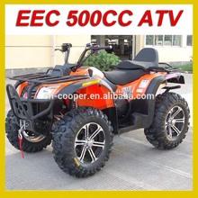 EEC 500CC ATV 4X4 Driving