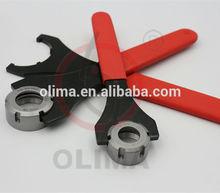 ER16M~ER40M C type spanner wrench ER straight shank collet chuck spanner wrench