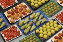 protecting fruit 39*59cm black&blue PP apple insert tray