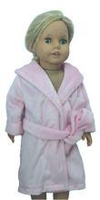 Rose poupée american girl peignoir vêtements
