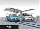 6x5.5x2.9m Poly Carbonate Sail Material and Garages, Canopies & Carports Type aluminum carport canopy