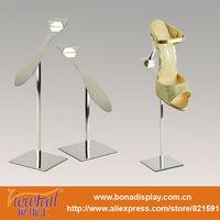 Metal portable shoes display shelves BN-9062PSS