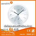aluminio única reloj de mesa para la decoración del hogar