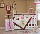 10 pcs baby Crib Bedding set, baby cot bedding set