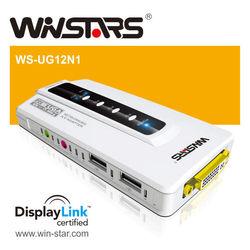 USB 2.0 Network AV Adapter , USB to vga ,USB to dvi