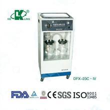 ( Dfx-23c.iv ) Mobile aspirador médica para ginecologia