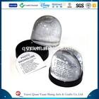 9*9*8.5cm photo frame Customized PS snow globe