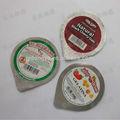 corte de aluminio pre tapas de aluminio para el envasado de leche y productos lácteos