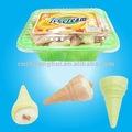 sorvete de doce marshmallow
